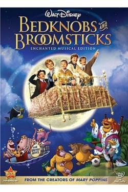 Bedknobs and Broomsticks DVD Cover Art