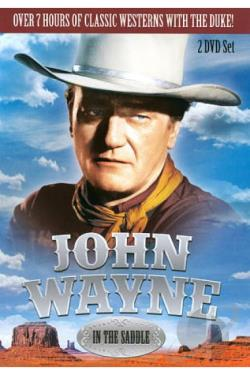 John Wayne: In the Saddle DVD Cover Art
