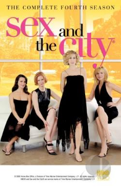 Sex and the City - The Complete Fourth Season DVD Cover Art