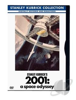 2001: A Space Odyssey DVD Cover Art