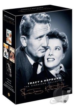 Katharine Hepburn & Spencer Tracy  DVD Cover Art