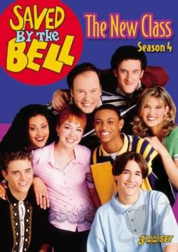 Saved By The Bell - The New Class: Season 4 DVD Cover Art