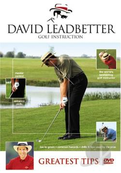 David Leadbetter - Greatest Tips DVD Cover Art