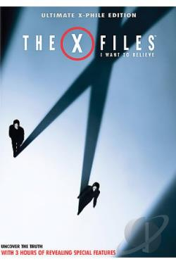 X-Files: I Want To Believe DVD Cover Art