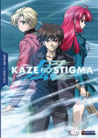 Kaze No Stigma - Season 1 Part 1 DVD Cover Art