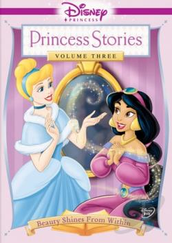 Disney Princess Stories Volume 3: Beauty Shines From Within DVD Cover Art