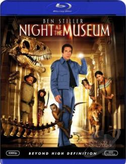 Night at the Museum BRAY Cover Art