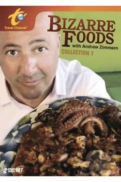 Bizarre Foods DVD Cover Art