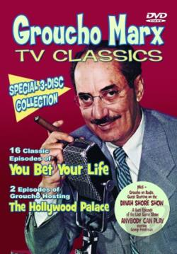 Groucho Marx TV Classics DVD Cover Art