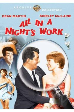 All in a Night's Work DVD Cover Art