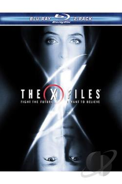 X-Files 2-Pack: Fight the Future/I Want to Believe BRAY Cover Art