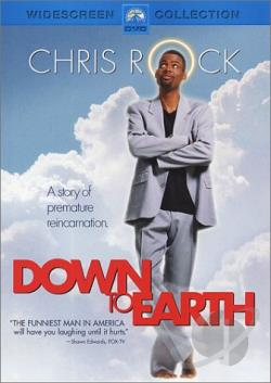 Down to Earth DVD Cover Art