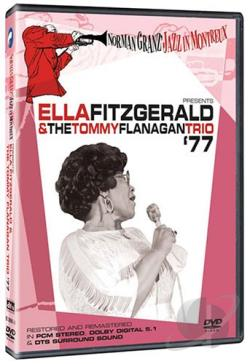 Ella Fitzgerald & Tommy Flanagan Trio '77 DVD Cover Art