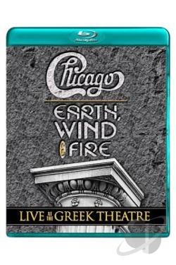Chicago with Earth, Wind & Fire - Live At the Greek Theatre BRAY Cover Art