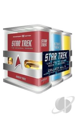 Star Trek: The Original Series - Three Season Pack DVD Cover Art