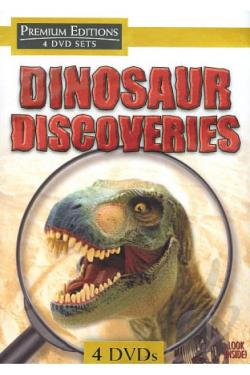 Dinosaur Discoveries DVD Cover Art