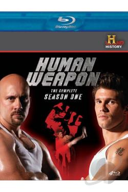 Human Weapon - The Complete Season One BRAY Cover Art