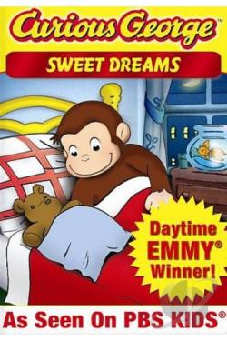 Curious George: Sweet Dreams DVD Cover Art