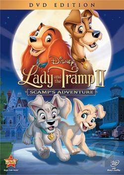 Lady and the Tramp II: Scamp's Adventure DVD Cover Art