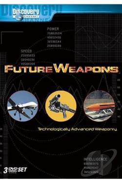 Future Weapons - The Complete First Season DVD Cover Art