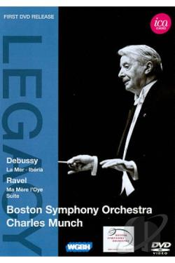 Boston Symphony Orchestra/Charles Munch: Debussy/Ravel DVD Cover Art