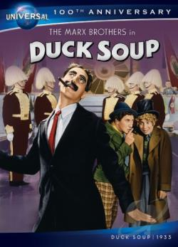 Duck Soup DVD Cover Art