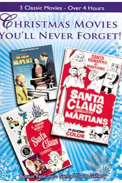 Christmas Movies You'll Never Forget DVD Cover Art
