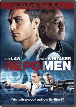 Repo Men DVD Cover Art