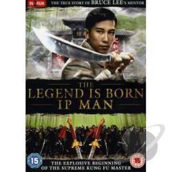 Legend Is Born: Ip Man DVD Cover Art