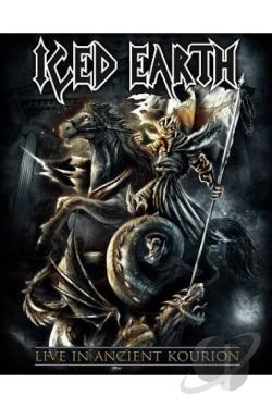 Iced Earth: Live in Ancient Kourion BRAY Cover Art