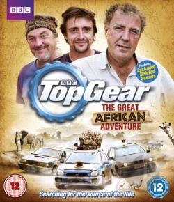 Top Gear: The Great African Adventure BRAY Cover Art