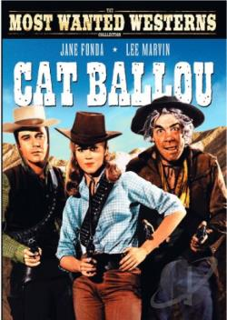 Cat Ballou DVD Cover Art