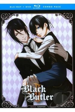 Black Butler II DVD Cover Art