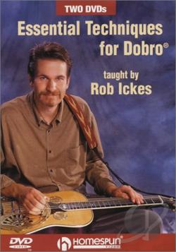 Essential Techniques for Dobro DVD Cover Art