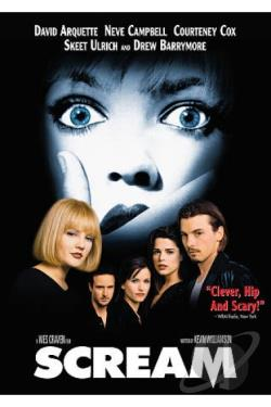 Scream DVD Cover Art