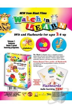 Watch 'N Learn - Box Set DVD Cover Art