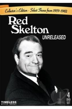 Red Skelton: Unreleased - Select Shows from 1959-1962 DVD Cover Art