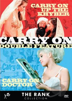 Rank Collection: Carry On Double Feature - Carry On Up the Khyber/Carry On Doctor DVD Cover Art