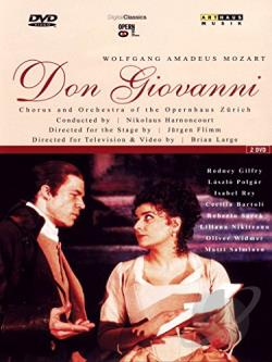 Mozart - Don Giovanni / Opernhaus Zurich DVD Cover Art