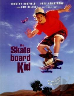 Skateboard Kid DVD Cover Art