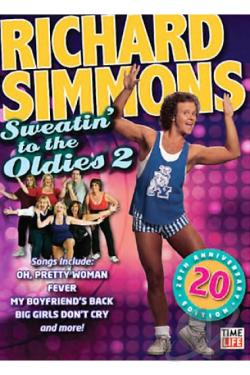 Richard Simmons - Sweatin' to the Oldies 2 DVD Cover Art