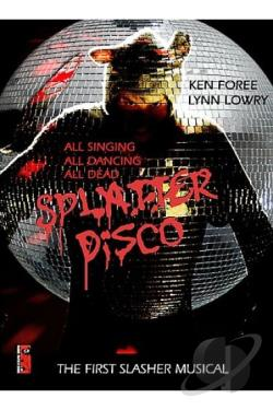 Splatter Disco DVD Cover Art