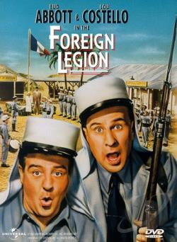 Abbott and Costello in the Foreign Legion DVD Cover Art