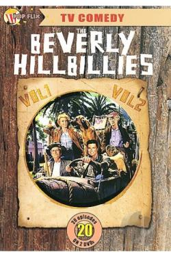 TV Comedy - The Beverly Hillbillies Vol.1 & Vol. 2 DVD Cover Art