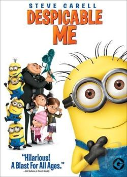 Despicable Me DVD Cover Art
