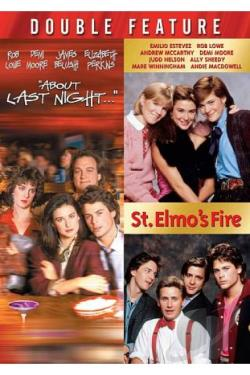 About Last Night.../St. Elmo's Fire DVD Cover Art