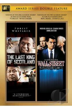 Fox Best Actor Double Feature: Wall Street/The Last King of Scotland DVD Cover Art