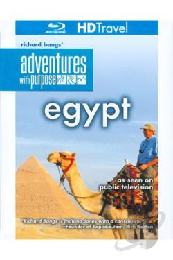 Richard Bangs' Adventures with Purpose: Egypt - Quest for the Lord of the Nile BRAY Cover Art