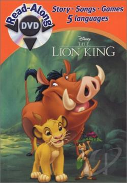 Lion King - Read-Along DVD Cover Art
