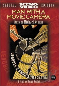 Man With a Movie Camera DVD Cover Art